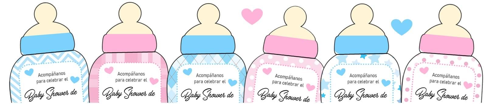 Baby Shower Biberón Banner