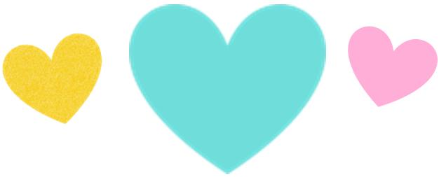 corazon verde para baby shower