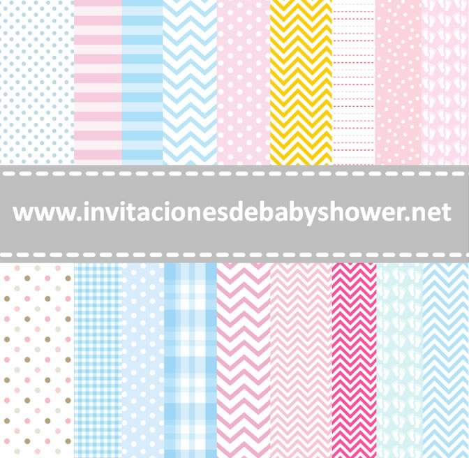 Fondos baby Shower Foto