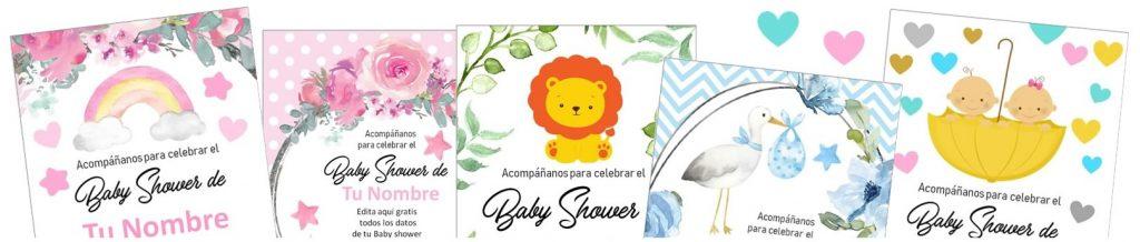 invitaciones baby shawer